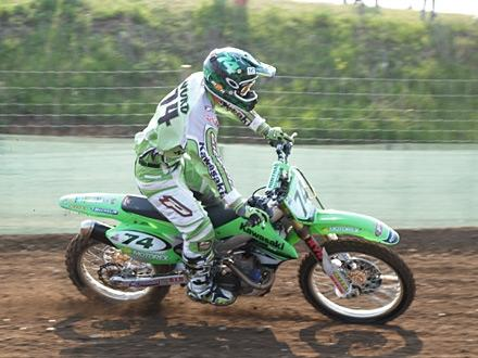 Stephen Sword (GBR, Kawasaki) in Teutschenthal (GER)