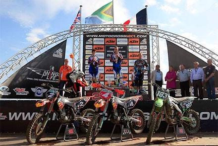 Podium MX2 / Photo by: Youthstream