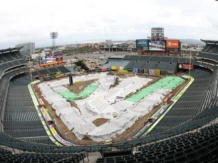 Angel Stadium in Anaheim / Photo by: AMA Supercross