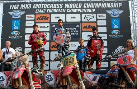 Podium MX3 / Photo by: Youthstream